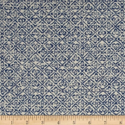 Schumacher Indoor/Outdoor Sarong Weave Indigo