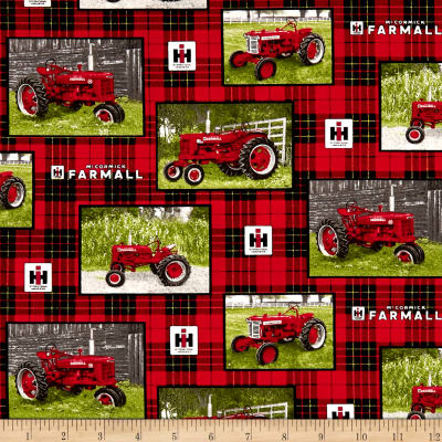 Farmall Tractor Patch Allover Multi