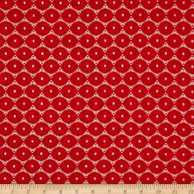 Circle Lace Red
