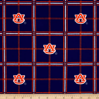 NCAA Auburn University Tigers Flannel Plaid