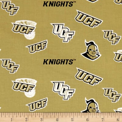 NCAA University of Central Florida Tossed Logos