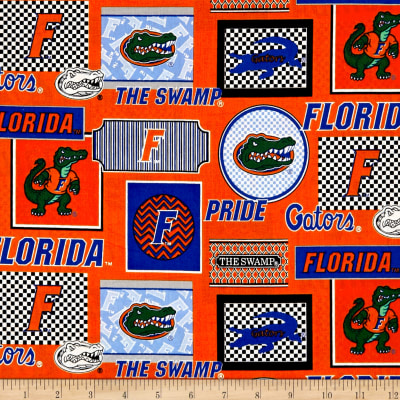 NCAA University of Florida Packed Patches Allover
