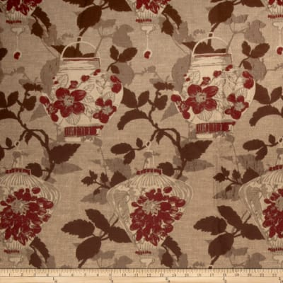 Fabricut Empress Pomegranate
