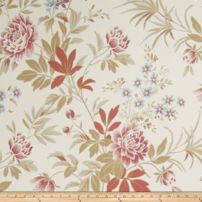 French General Florette Wallpaper Rouge (Double Roll)