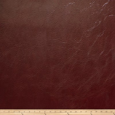 Fabricut Millbrook Faux Leather Merlot