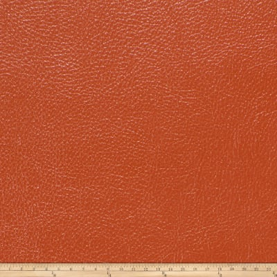 Fabricut Saratoga Faux Leather Tangelo