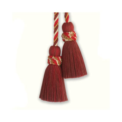 Fabricut Al Fresco Double Tassel Tieback Vineyard