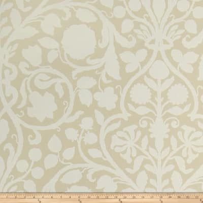Fabricut Bennett Nonwoven Wallpaper Beige (Double Roll)