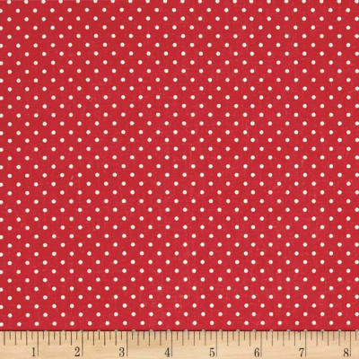 STOF France Mini Plumetis Red