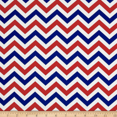Made In The USA II Chevron Red/White/Blue