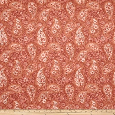 """108"""" Wide Back Paisley Peach"""