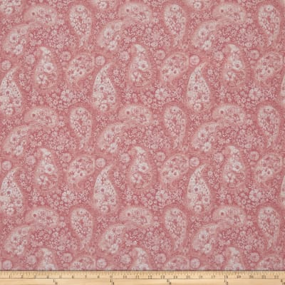 """108"""" Wide Back Paisley Pink"""