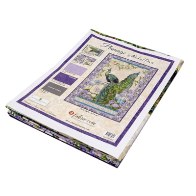 """Wilmington Plumage Kit - Exclusive Wall Quilt - 30"""" x 46"""""""