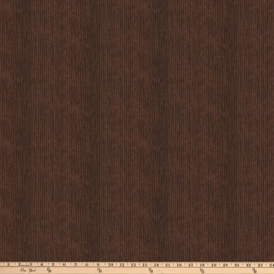 Autumn Village Stripe Brown