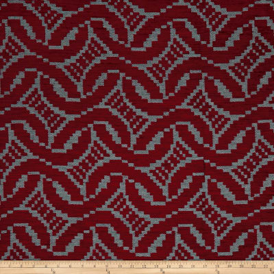 Artistry Patago Chenille Jacquard Ruby
