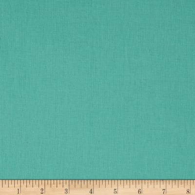 Tempo Cotton/Linen Solid Pool Blue