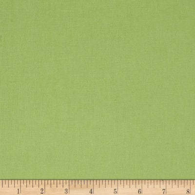 Tempo Cotton/Linen Solid Lettuce Green