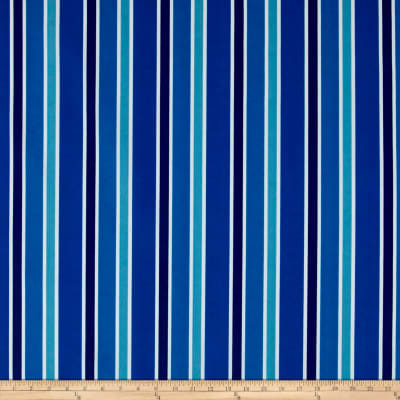 Terrasol Indoor/Outdoor Julienne Stripe Indigo