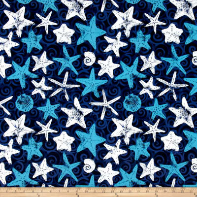 Terrasol Indoor/Outdoor Starfish Indigo