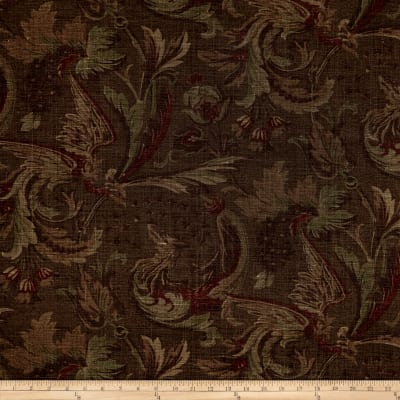 Thibaut Livorna Floral Duck Brown