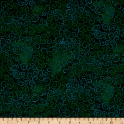 QT Fabrics Basics Ombre Scroll Blender Forest