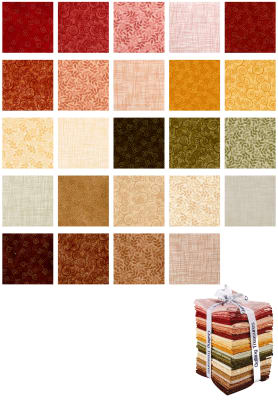 QT Fabrics Harmony 24 Pcs. Fat Quarter Bundle Multi