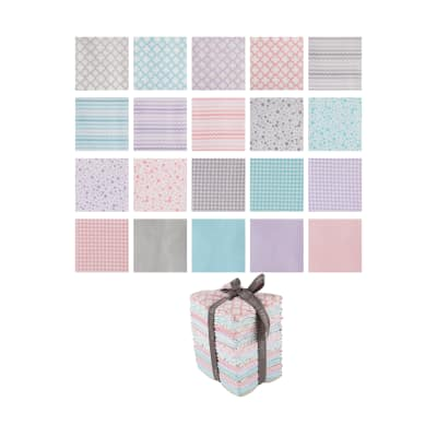 QT Fabrics Sorbet Essentials 20 Pcs. Fat Quarter Bundle Multi