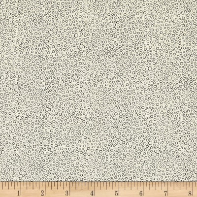 QT Fabrics Antiquities Colebrook Mini Dot Cream/Black