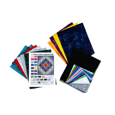 """Wilmington Rock Candy Kit Throw Quilt 52-1/2""""X 61-1/2"""" Multi - Exclusive"""