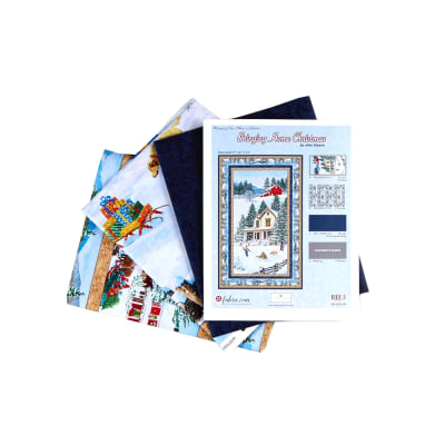 """Wilmington Bringing Home Christmas Wall Quilt 32""""X 51"""" - Exclusive"""
