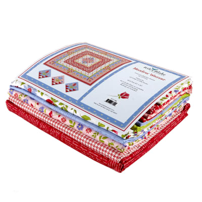 "Riley Blake Penny Rose Meadow Weaver 83"" Quilt Kit Midday"