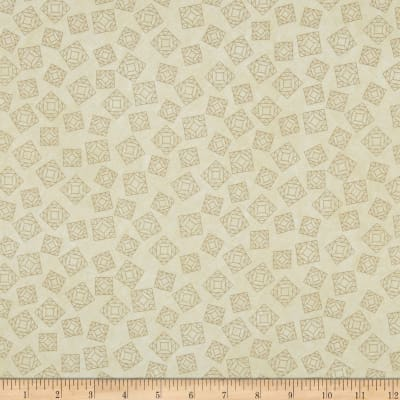 Riverwoods Quilt Trails Abstract Cream