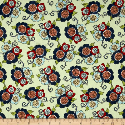 Riverwoods Vintage Vogue Laundry Floral Green