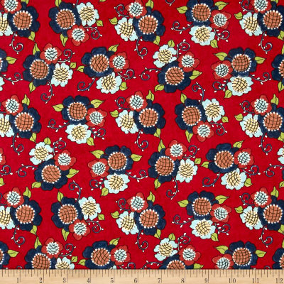 Riverwoods Vintage Vogue Laundry Floral Red