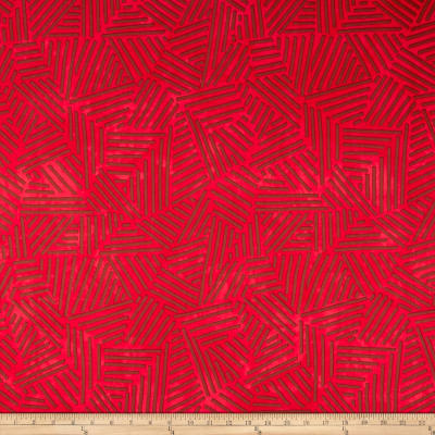 Riverwoods Great Wall Abstract Red/Brown