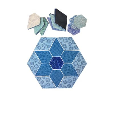 "Fabric.com Jewel Star 32"" Kit Blue - Exclusive"