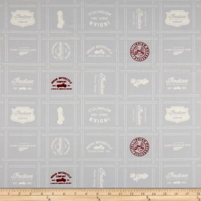 Indian Patches Gray