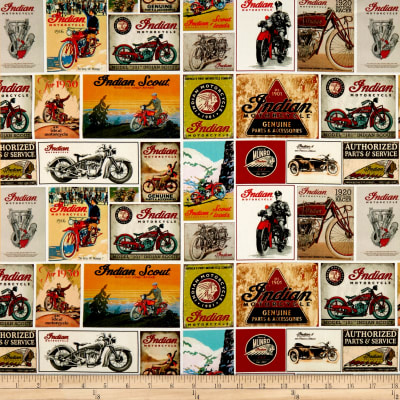 Indian Vintage Signs White