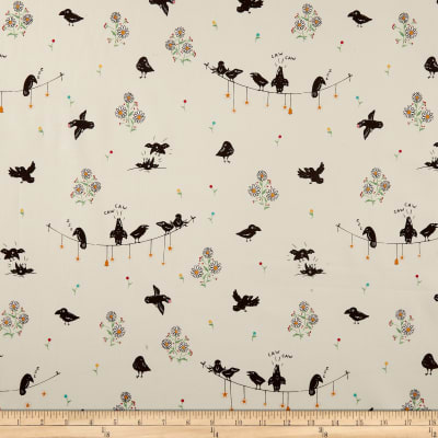 Penny Rose Calico Crow ded Cream
