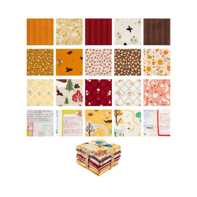 Penny Rose Calico Crow 21 Pcs. Fat Quarter Bundle Multi
