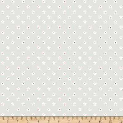 Riley Blake Vintage Adventure Trellis Gray