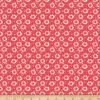 Penny Rose Floral Hues Daisies Red