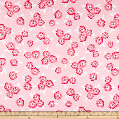 Riley Blake Hello Lovely Floral Pink