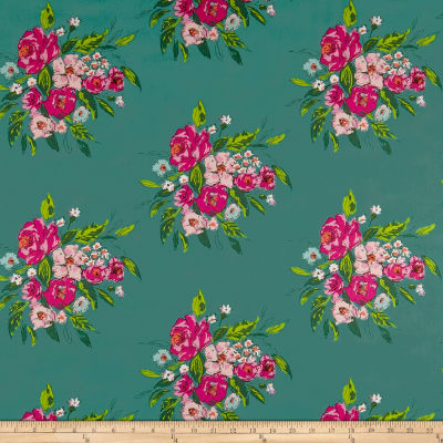 Art Gallery Fabrics Extempore Fancy Celadon Green