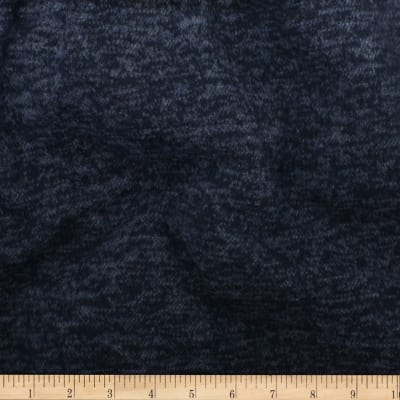 Telio Knit Knack Brushed Sweater Knit Navy