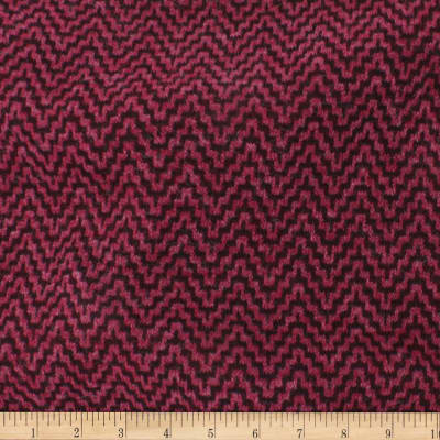 Telio Foxy Poly Mix Herringbone Sweater Knit Wine