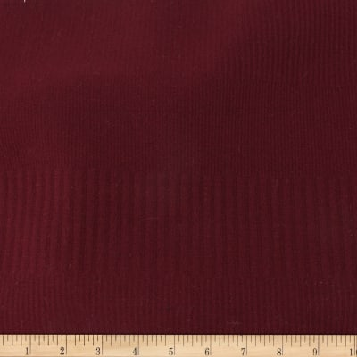 Telio Parallel Rib Poly Spandex Knit Bordeaux