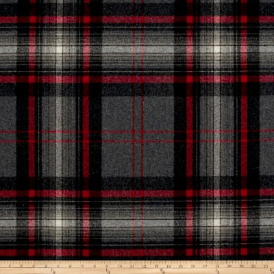 Ralph Lauren Home LFY66964F Hawthorne Melton Wool Plaid Hearthstone