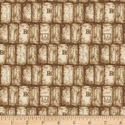Henry Glass Wine Night Packed Corks Light Brown
