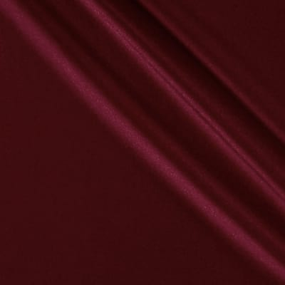 Activewear Spandex Knit Solid Burgundy